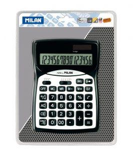 Calculadora 16 dígitos Milan 152016BL