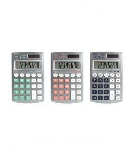 Calculadora 8 Dígitos Milan Pocket Silver 159506SL