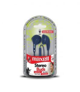 Auricular Maxell con Micrófono EB-MIC Azul