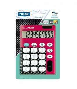 Calculadora 10 dígitos Dots & Buttons Rosa Milan