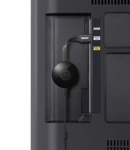 Chromecast Google 2da Generación Negro