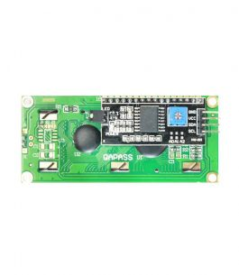 LCD 16 x 2 – Rduino