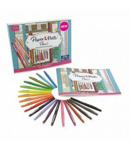 Kit 20 Marcadores Paper Mate Glam-Closet Color