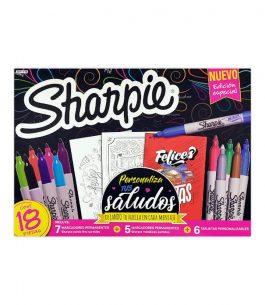 Kit 18 Marcadores Sharpie Personaliza tus Saludos
