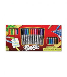 Kit 23 Marcadores Sharpie Holiday