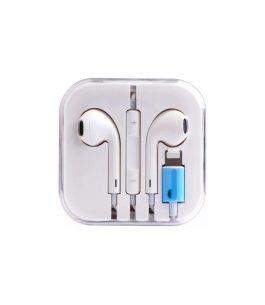 Auricular para iPhone Lightning con estuche