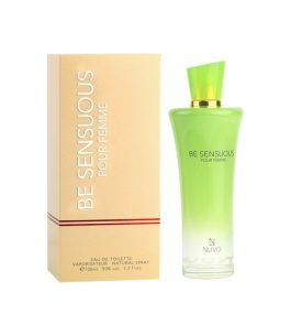 Colonia Nuvo Be Sensous EDT – 100 ml