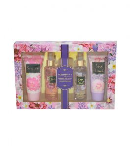 Kit Perfume 4 Piezas Scenabella Love Touch