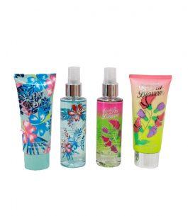 Kit Perfume 4 Piezas Scenabella Sweet Blossom & Love Seduce