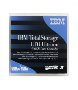 Cartucho de Datos 400GB LTO Ultrium 3 – IBM 24R1922