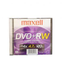 Disco DVD-RW Maxell 4.7GB