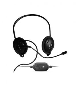 Headset Maxell 346173 Detachable Microphone USB