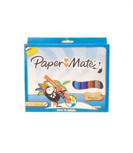 Marcadores Paper Mate de Punta Gruesa
