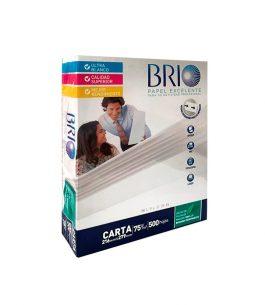 Resma BRIO 500 Hojas Tamaño Carta