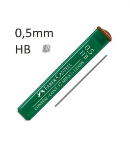 Minas Faber Castell HB 0.5mm