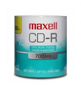 Disco Maxell CD-R 48 x 700 MB 80min