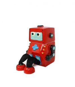 Alcancía con diseño de Robot