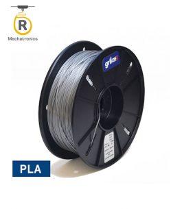 Filamento Grilon3 Impresora 3D – PLA Gris Plata 1kg