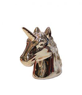 Alcancía con diseño de Unicornio