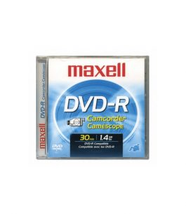 Disco Maxell Mini DVD-R Camcorder