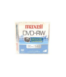 Disco Maxell Mini DVD-RW Camcorder