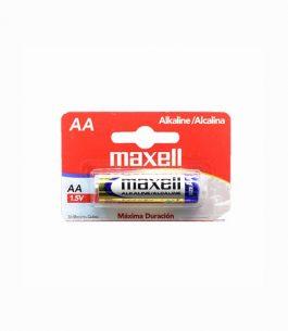 Pila AA Maxell Alkaline x Unidad