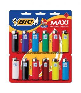 Encendedor BIC Maxi por Unidad