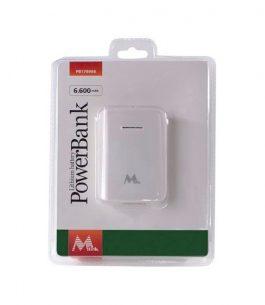 Cargador portátil Mtek 6600 MAH