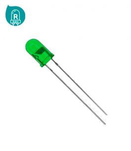 Led Verde de 3mm RLLV05 – Rduino
