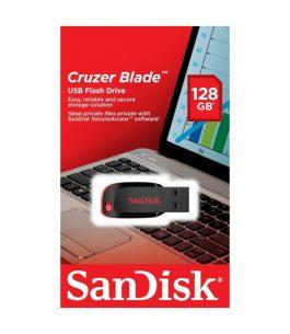 Pendrive Sandisk Cruzer Blade 128GB 2.0