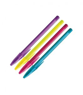 Bolígrafo BIC Shimmers Colores