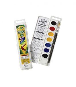 Estuche Crayola de 8 Colores con Pincel de Cerdas