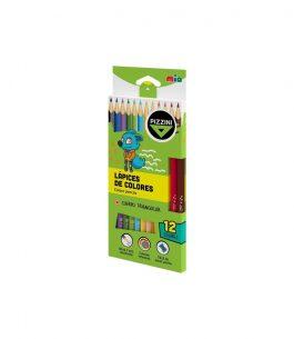 Set de 12 lápices de Colores  Pizzini