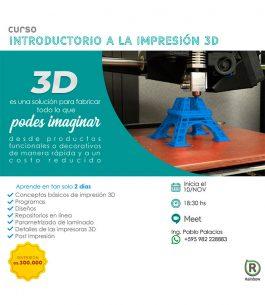 Curso Rduino Introductorio a la Impresión 3D