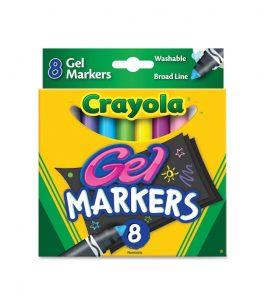 Marcador en Gel Crayola 8 Colores