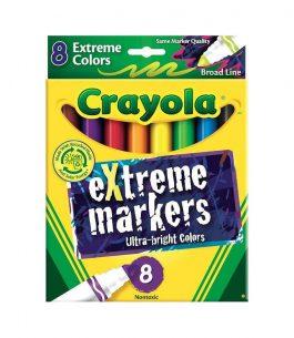 Marcador Extreme Crayola 8 Colores