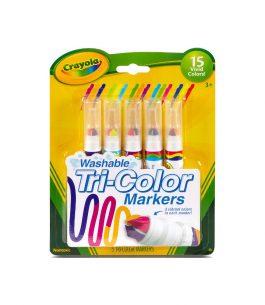 Pincel Crayola Tricolor x 5