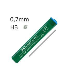 Minas Faber Castell HB 0.7mm