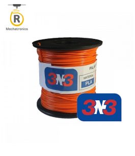 Filamento 3N3 Impresora 3D – PLA Naranja 500gr