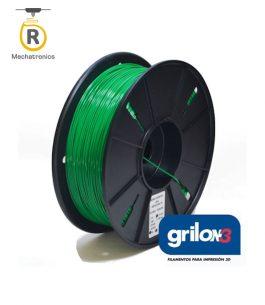 Filamento Grilon3 Impresora 3D – PLA+ Verde UV Glow 1kg