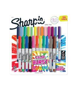Marcador Sharpie Fino Color Burst x24