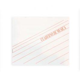 Cuaderno para Música Pentagramado
