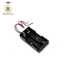 Portapilas Doble 23A 12v con Cable – Mechatronics
