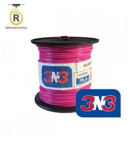 Filamento 3N3 Impresora 3D – PLA Fucsia 500gr
