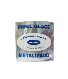 Papel Glase Metalizado