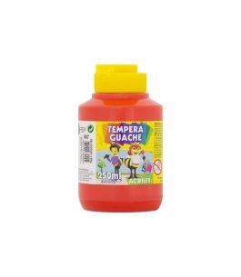 Tempera Acrilex 507 Rojo Fuego 250ml