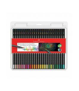 Set 50 Eco Lapices de Color Faber Castell Supersoft