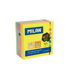Notas Adhesivas Milan Removibles 76x76mm