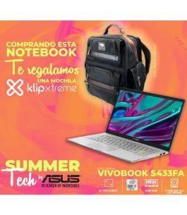 Notebook ASUS i5 VIVOBOOK S433FA-EB319T + REGALO
