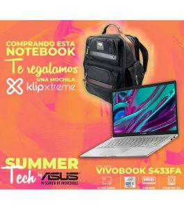 Notebook ASUS i5 VIVOBOOK S433FA-EB070T + REGALO